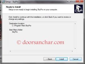05 How to install SkyPro on your computer.....install CDMA EVDO device on your computer.....Nepal Telecom Wireless Broadband IP CDMA