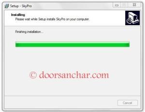 08 How to install SkyPro on your computer.....install CDMA EVDO device on your computer.....Nepal Telecom Wireless Broadband IP CDMA
