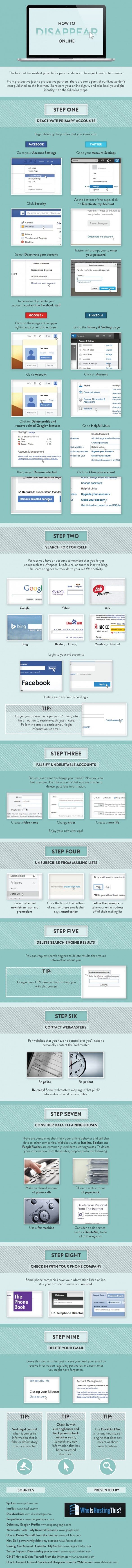 hide yourself from internet -how-to-disappear-online-infographic