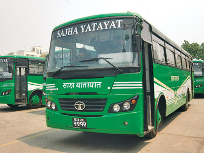 sajha bus doorsanchar