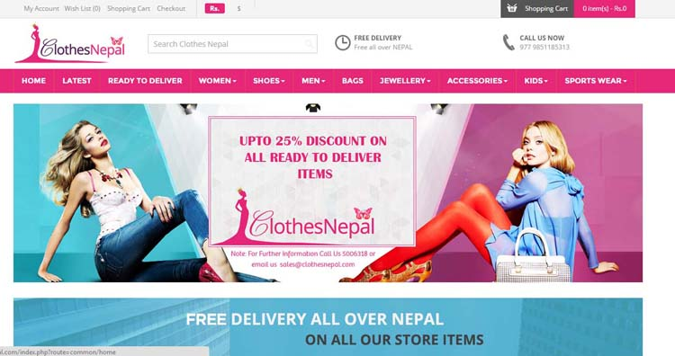 01 Online Shopping in Nepal 5 best online shopping sites in Nepal ClothesNepal