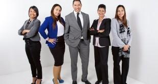 workforce people in office