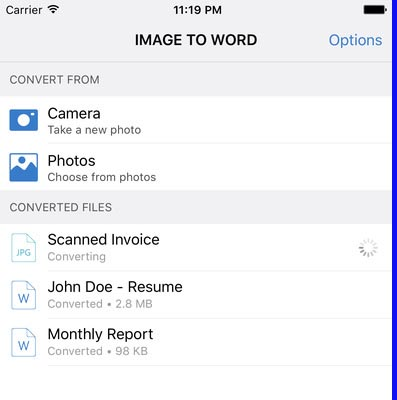 Convert Images to Documents on Your iPhone - Doorsanchar