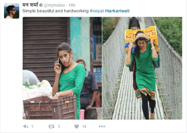Nepali Tarkariwali going viral over internet - Doorsanchar
