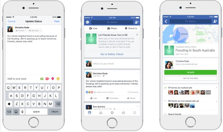 Facebook's Safety check feature now can be turned by community itself - Doorsanchar