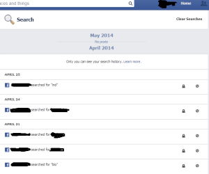 How to Erase Search History on Facebook - Doorsanchar