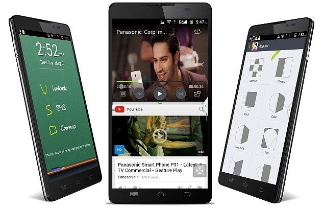 Panasonic launched P81 Octa-Core Smartphone in India - Doorsanchar