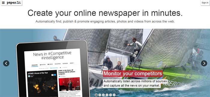 Paper.Li : Publish Newspaper Free - Doorsanchar
