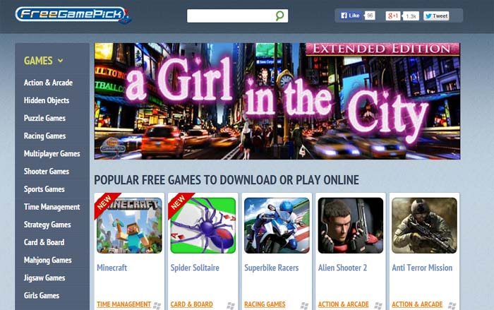 01 Freegamepick.com Free PC Games for Download