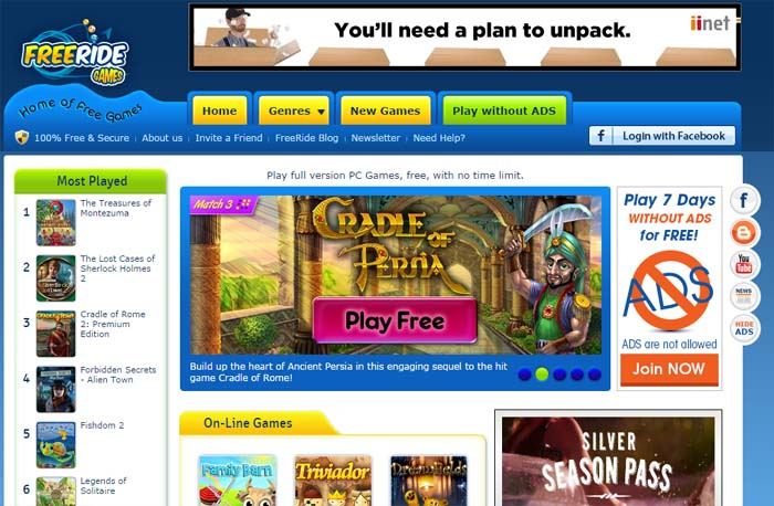 04 Freeridegames.com Free PC Games for download Download free games to play on Computer