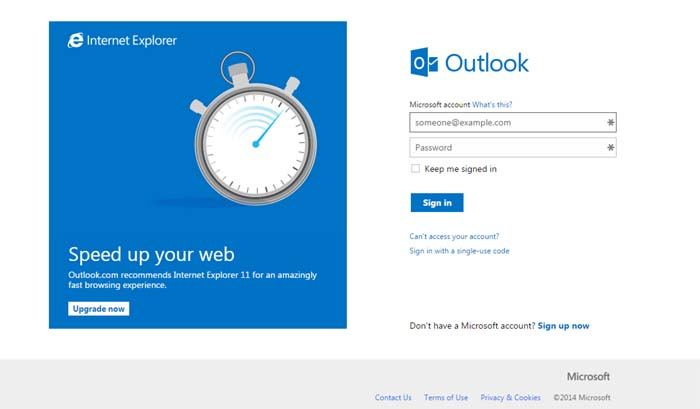 06 Outlook from Microsoft free email service