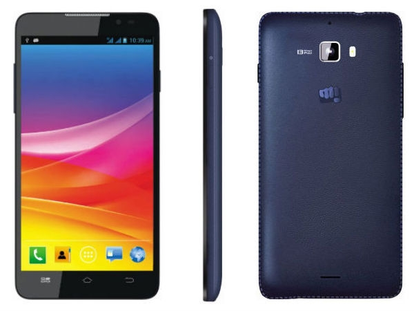 08 Best Smartphones in Indian Market to buy in this Festive Season Micromax Canvas Nitro A310