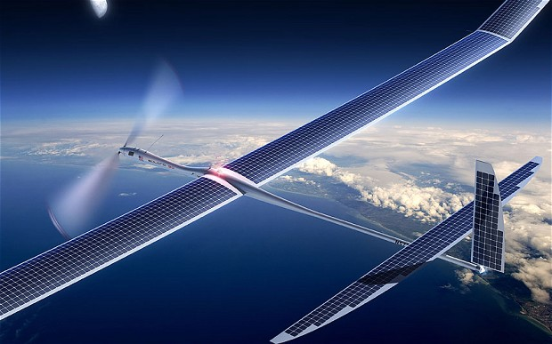 Facebook Drone to Connect the World  through Internet - Doorsanchar