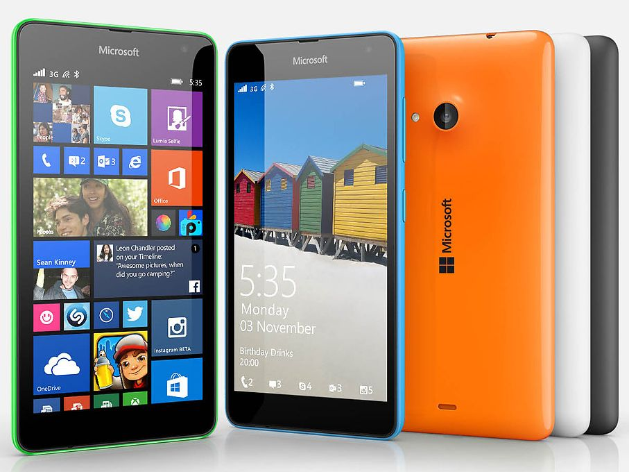 Good bye Nokia, Microsoft launched first Non Nokia  Smartphone, Lumia 535 - Doorsanchar