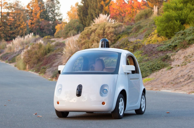 01 Google's Self Drivring Car