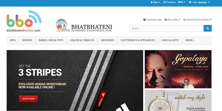 04 Online Shopping in Nepal 5 best online shopping sites in Nepal BhatBhateni