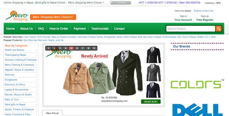 05 Online Shopping in Nepal 5 best online shopping sites in Nepal Mero Shopping