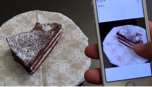3DAround App to take 3D photos by iPhone 1