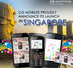 CG mobile enters Singapore - Doorsanchar