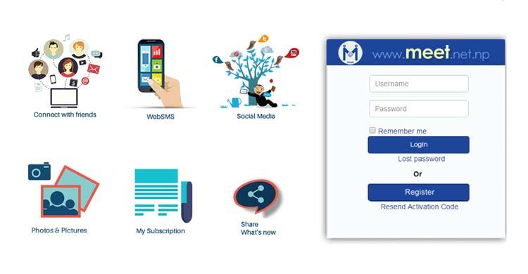nepalese social network meet nepal telecom