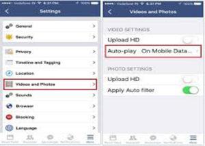 How to turn off auto-play videos - Doorsanchar
