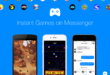 Play Pac-Man, space invaders and many more instant games on Messenger